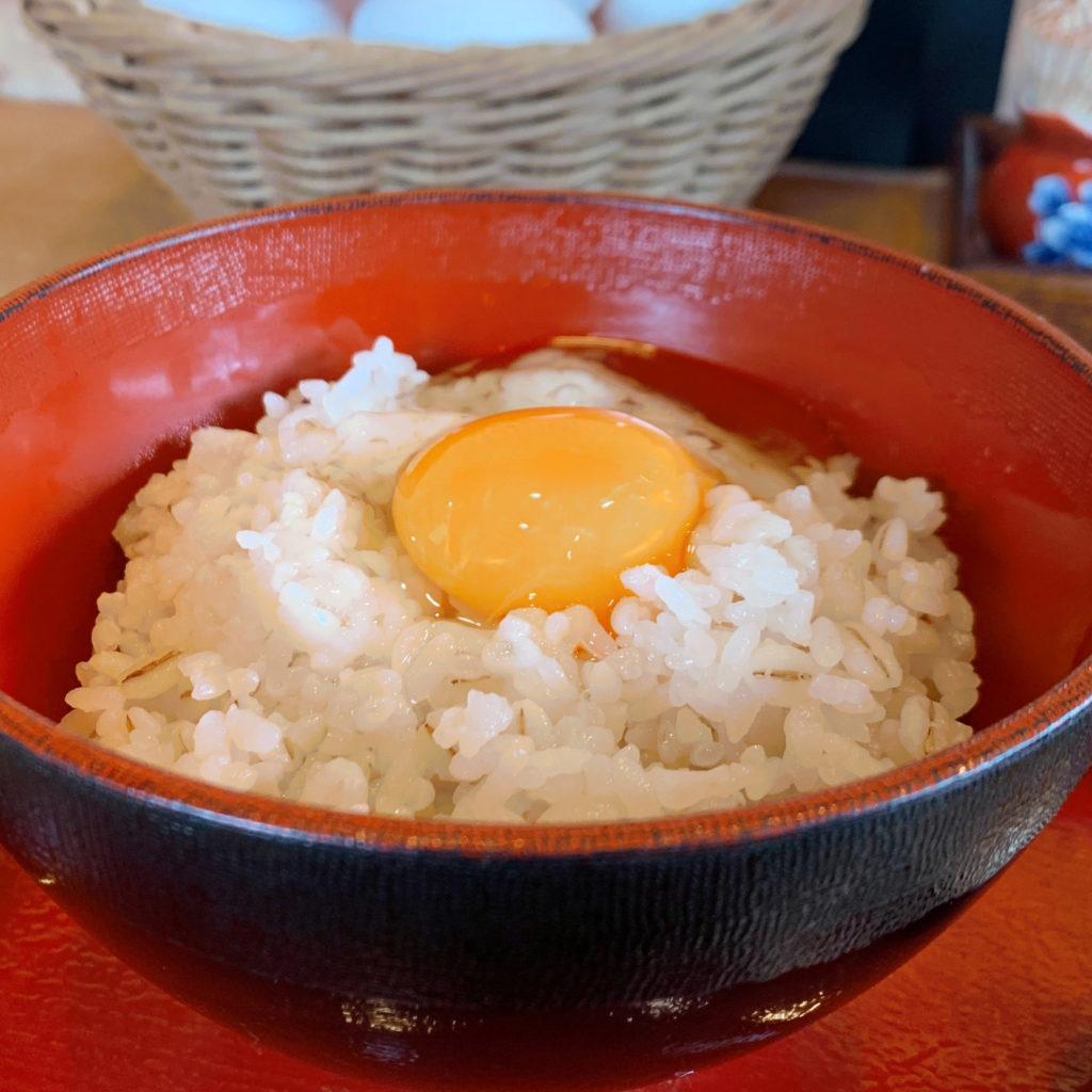畑乃家和歌山さんぽ卵かけごはん